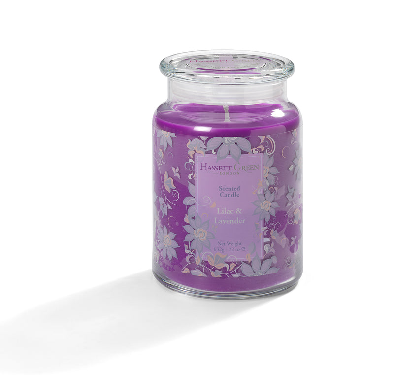 Lilac & Lavender - Scented Candle Jar 22oz