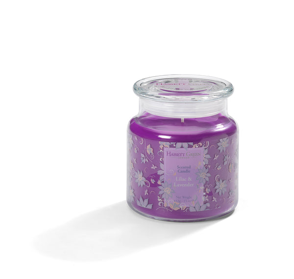 Lilac & Lavender - Scented Candle Jar 15oz