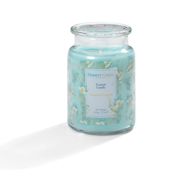 Natural Cotton - Scented Candle Jar 22oz