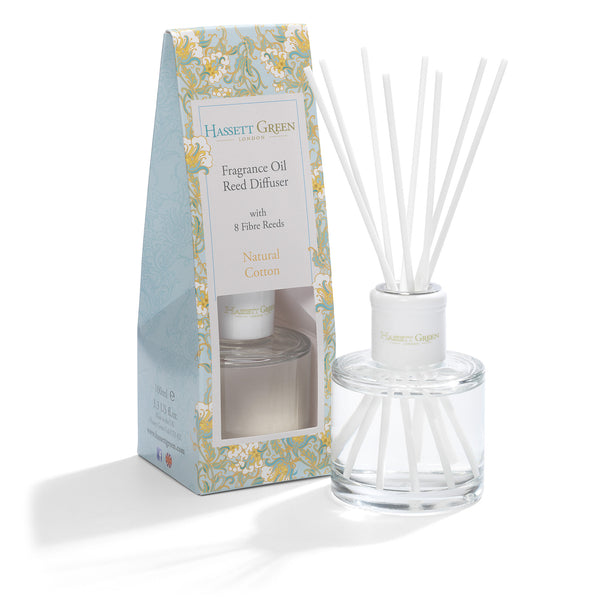 Natural Cotton - Fragrance Oil Reed Diffuser 100ml