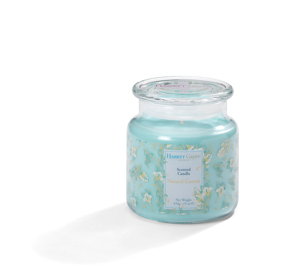 Natural Cotton - Scented Candle Jar 15oz