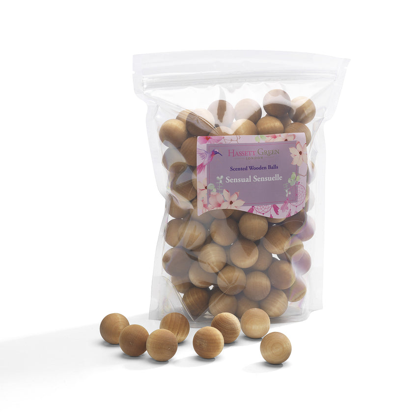 Sensual Sensuelle - Scented Wooden Balls (Pack of 100)