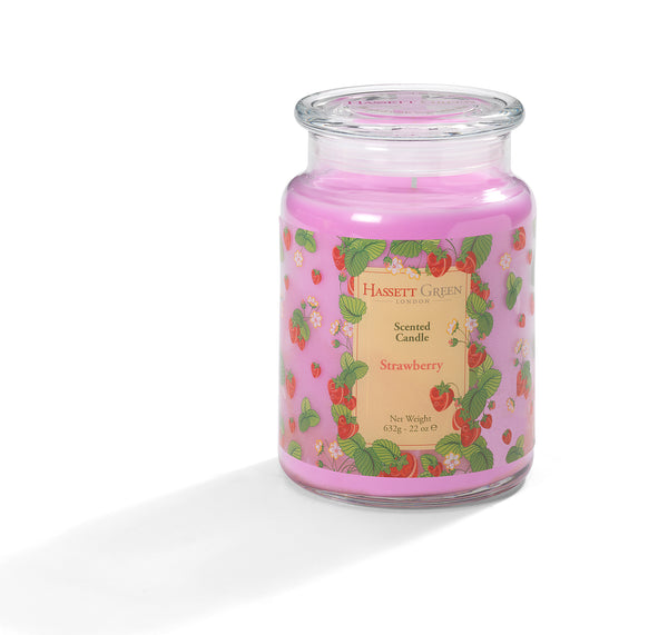 Strawberry - Scented Candle Jar 22oz