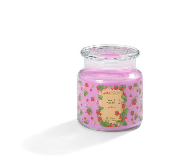 Strawberry - Scented Candle Jar 15oz