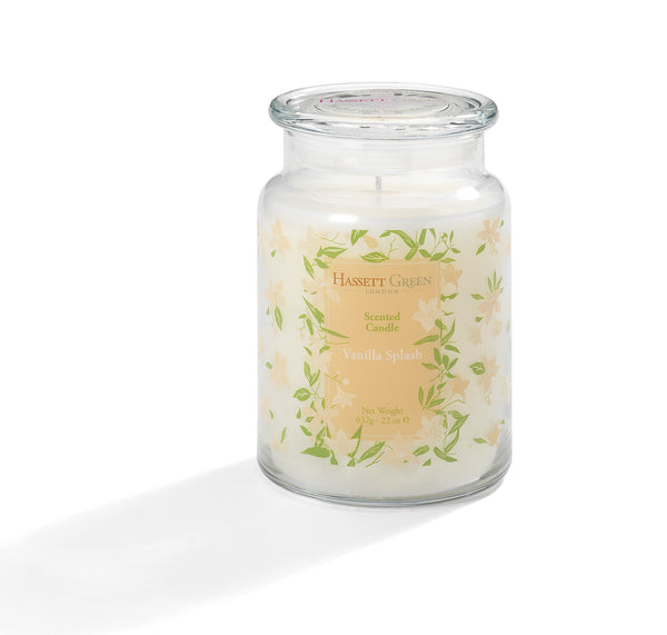 Vanilla Splash - Scented Candle Jar 22oz