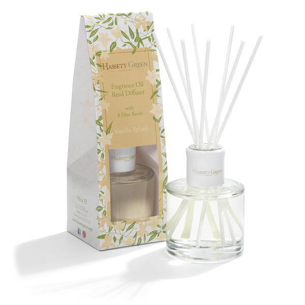 Vanilla Splash - Fragrance Oil Reed Diffuser 100ml