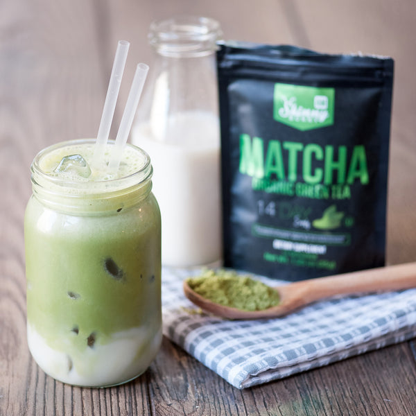 Organic Iced MATCHA Tea Recipe