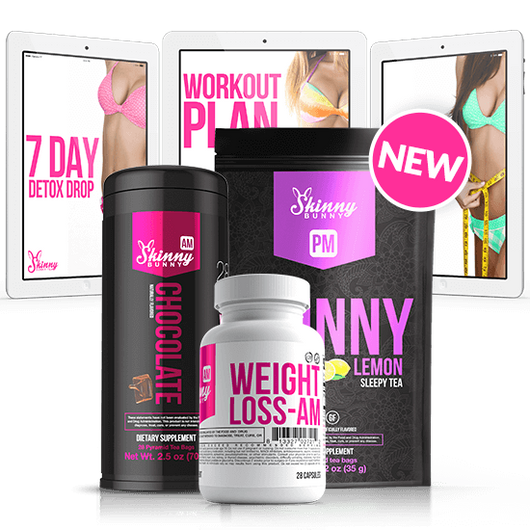 Ultimate Weight Loss & Detox Plan + Tea & Supplements