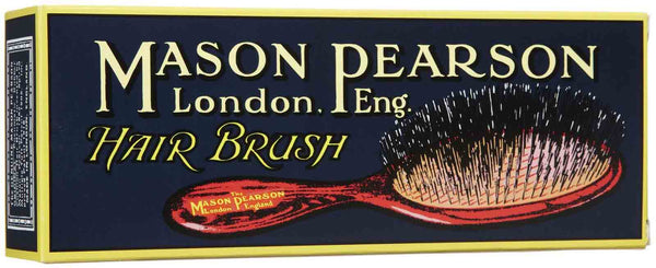 Handy Bristle & Nylon Hair Brush (BN3) - Dark Ruby - Tressence.com
