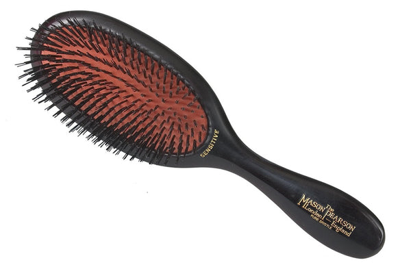 Mason Pearson Sensitive Bristle,SB3,Dark Ruby