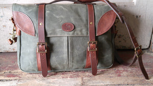Waxed Canvas Satchel