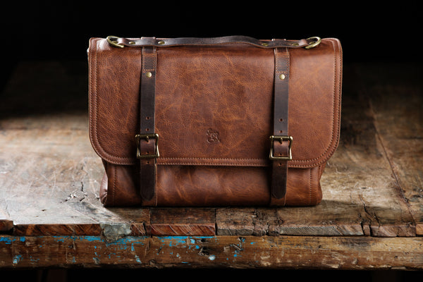 The Magazine Satchel - Whiskey