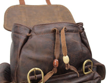 LM Products - The Bridges Backpack - American Made Leather Goods