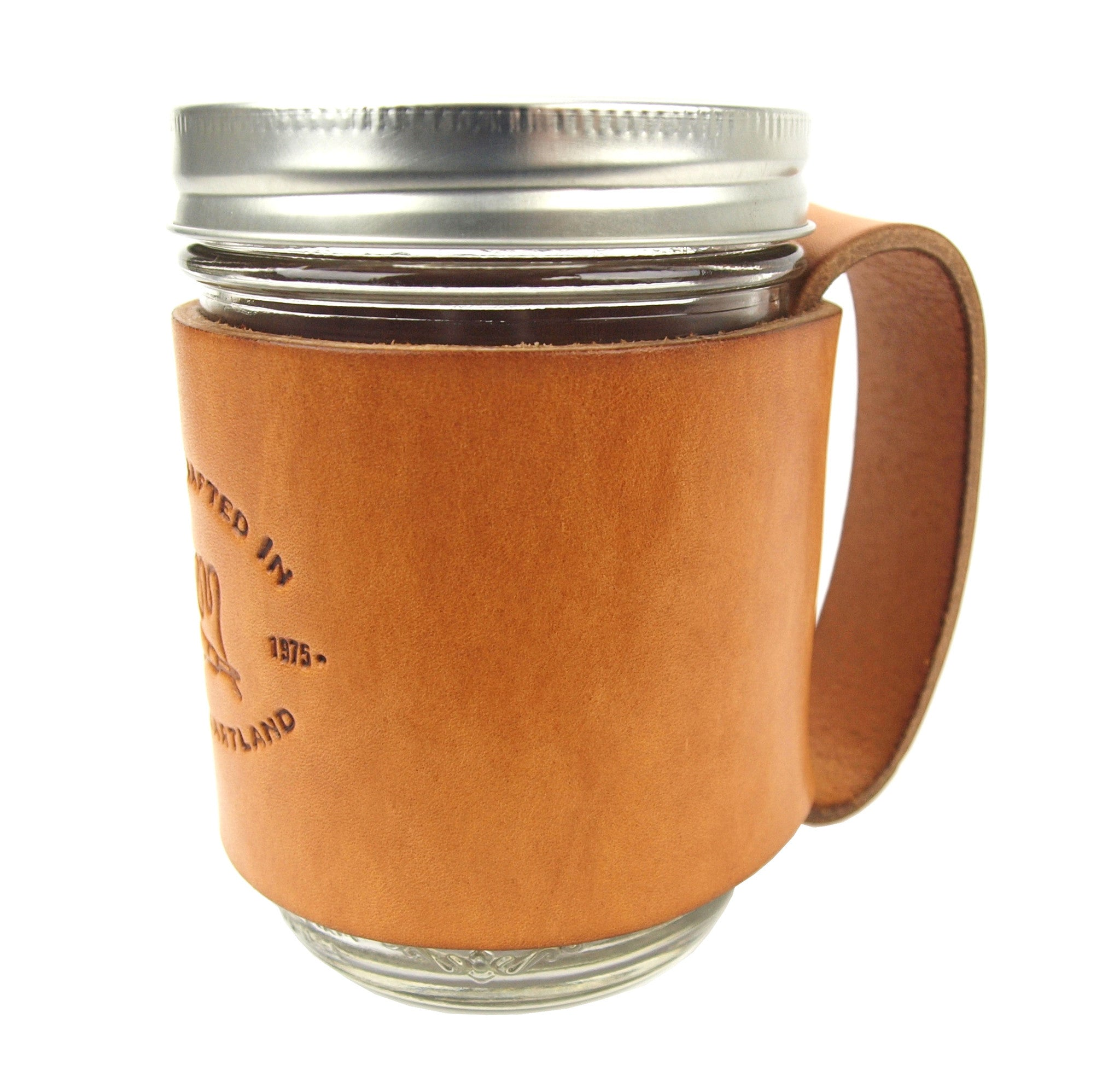 Leather Mason Jar Sleeves By Lm Products Lm Leather Goods