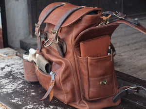 Bridges Backpack - Whiskey