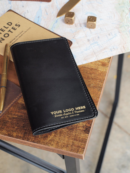Custom Logo Leather Journal