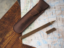 Custom Logo Leather Pen Case