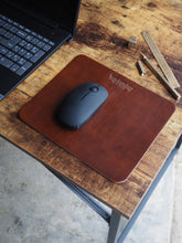 Custom Logo Leather Mouse Pad