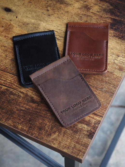 Custom Logo Card & Cash Wallet