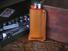 Leather Lighter Case
