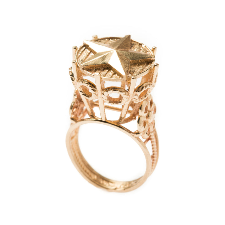 DIANA STAR PINKY RING