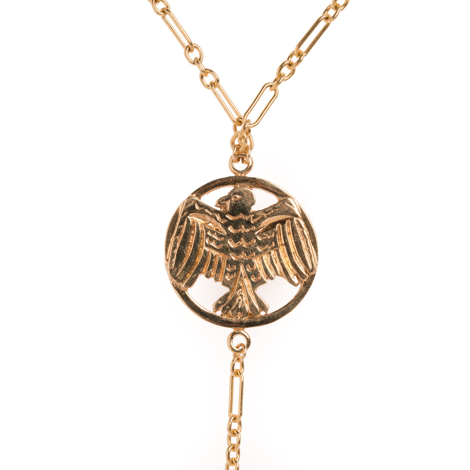 WILLS EAGLE NECKLACE