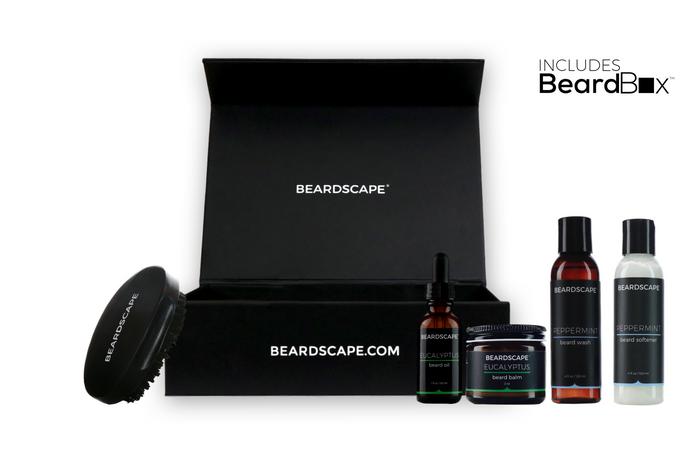 Executive Beard Brush Kits - BeardScape Co