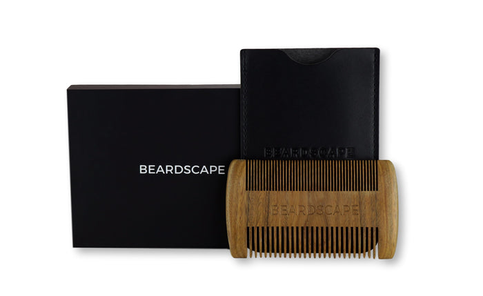 Sandalwood Beard Comb - BeardScape Co