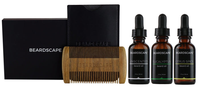 Triple Oil Starter Kit - BeardScape Co
