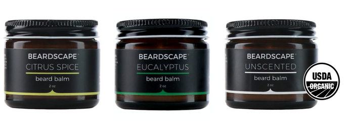 Triple Organic Balm Kit - BeardScape Co