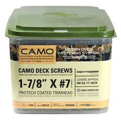 Camo ProTech Screws #7x1-7/8""