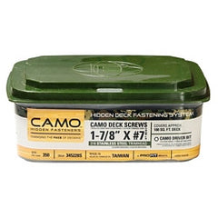 Camo ProTech Screws #7x1-7/8
