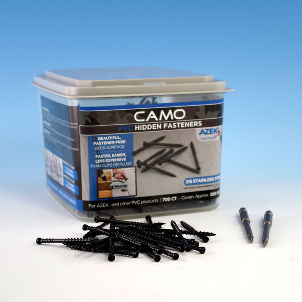 Camo Stainless Screw 2-3/8""