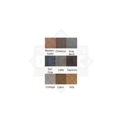 Fiberon Decking Samples