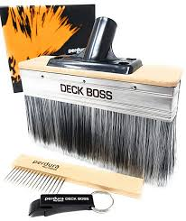 "Perdura Deck Boss 7"" Stain Brush"