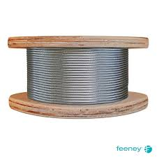 "Feeney Cable Rail 1/8""Bulk Cable"