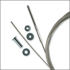 "Feeney 1/8"" Cable Kit For Metal"