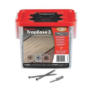 "TrapEase3 2-1/2"" Color Matched Screws 350ct"