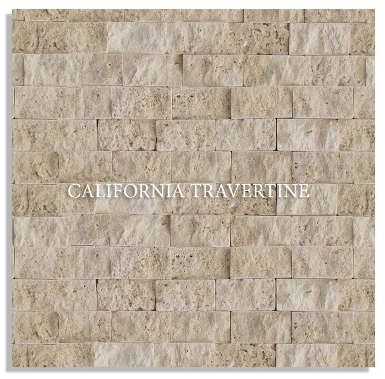 CLASSIC LIGHT IVORY SPLIT FACE TRAVERTINE