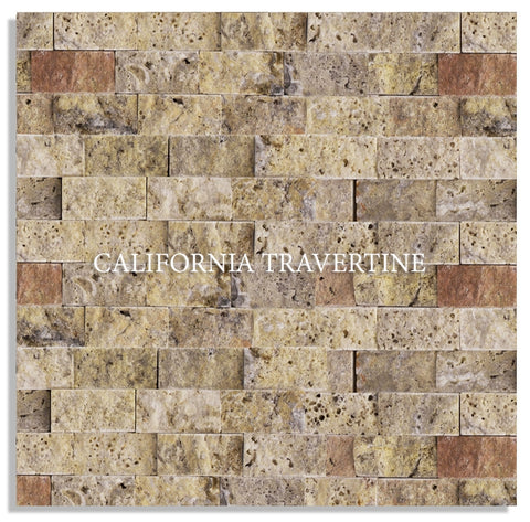 AUTUMN SPLIT FACE TRAVERTINE
