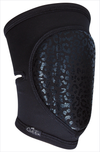 Queen Knee Pads Wild Black Sticky Grip NEW SIZING