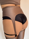 Sorte Riddle Cheeky Short - Black