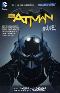 Batman, Vol. 2    #4: Zero Year - Secret City