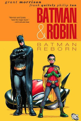 Batman and Robin: Batman Reborn #