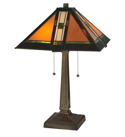 22 in. H Montana Mission Table Lamp