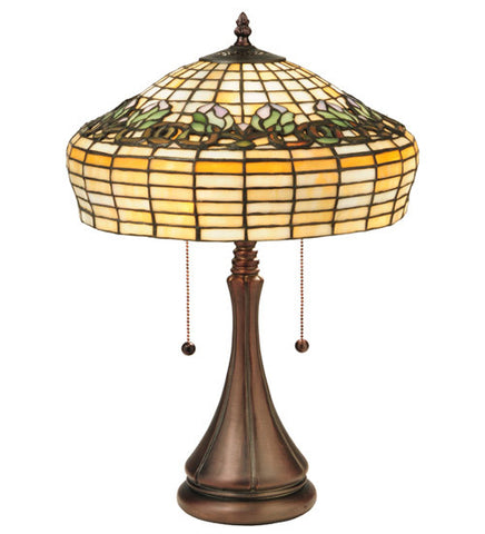 21.5 in. H Duffner & Kimberly Raised Tulip Table Lamp