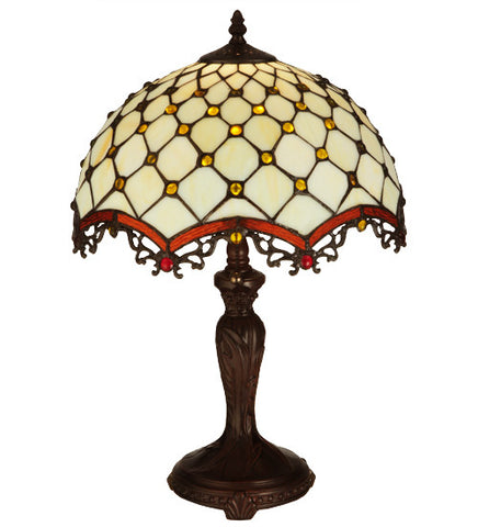 20 in. H Jeweled Katherine Table Lamp