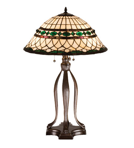 30 in. H Tiffany Roman Table Lamp