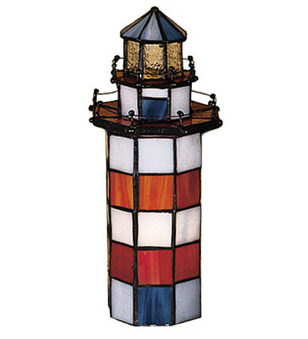 10 in. H The Lighthouse on Hilton Head Accent Lamp