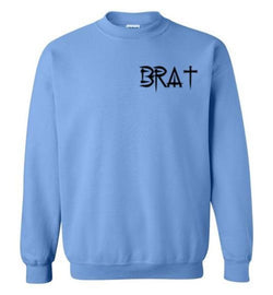 BRAT™ Ladies' Long Sleeve Crewneck Sweatshirt